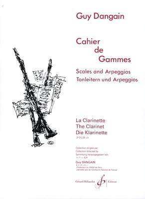 Cahier De Gammes  Guy Dangain  Clarinette / Guy Dangain / Billaudot