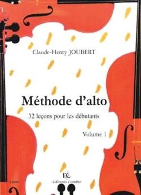 Méthode d'alto Vol.1 – 32 leçons débutants JOUBERT Claude-Henry / Claude-Henry Joubert / Combre