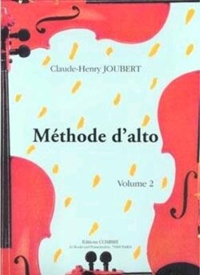 Méthode d'alto Vol.2 – 32 leçons 1ere et 3e positions JOUBERT Claude-Henry / Claude-Henry Joubert / Combre