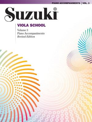 Suzuki Method International / Suzuki Viola School Piano Acc., Volume 3 (Revised)    Viola / Suzuki / Alfred Publishing