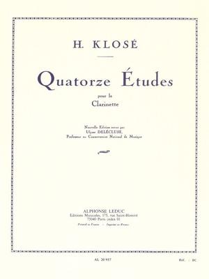 14 Etudes Op18  Hyacinthe-Eléonore Klosé  Clarinet Buch Klassik AL20957 / Hyacinthe-Eléonore Klosé / Leduc