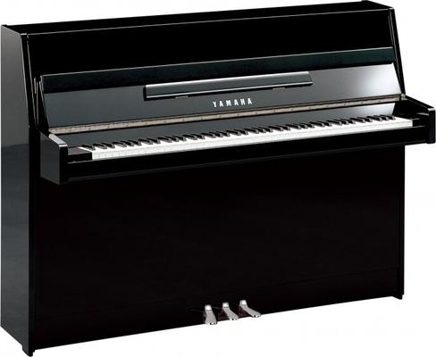 Yamaha Pianos Silent B1 SC2 PEC Noir poli-brillant, Chrome 109 cm