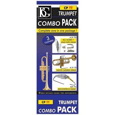 BG BG-CPTT BG Combo Pack, 3 écouvillons pour trompette
