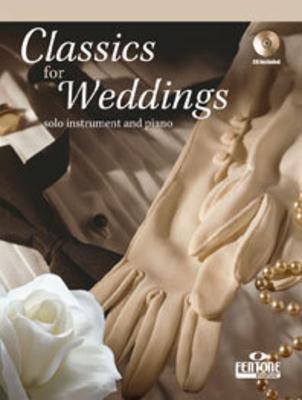 Classics for Weddings Violin with piano accompaniment   Violin Buch + CD Klassik F 920 /  / Fentone