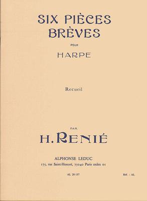 6 Pieces Breves Recueil Harpe Renie  Harp Buch  AL20157 / Henriette Renié / Leduc