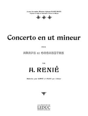 Concerto en ut mineur pour harpe et orchestreRenie Concerto In C Minor Harp & Piano  Henriette Renié  Harp Buch  AL20159 / Henriette Renié / Leduc