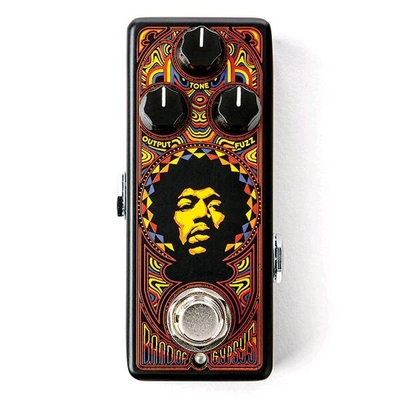 Dunlop JHW4 Authentic Hendrix '69 Psych Series, Band of Gypsys – Mini Pedal