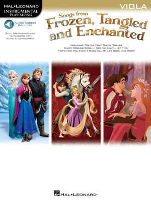 Hal Leonard Instrumental Play-Along / Songs From Frozen, Tangled & Enchanted – Viola Instrumental Play-Along   Viola Buch + Online-Audio TV, Film, Musical und Show HL00126929 /  / Hal Leonard