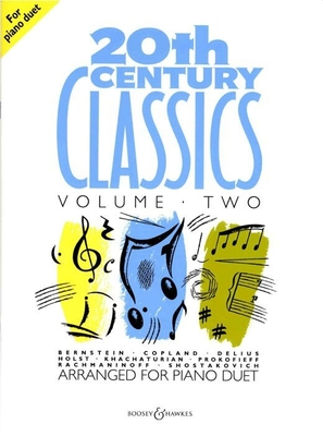 20th Century Classics Vol. 2 Piano 4 Hands Buch  BH 200107 /  / Boosey and Hawkes