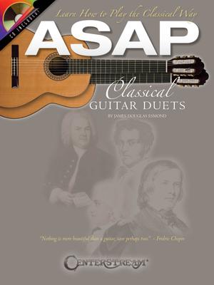 Guitar / ASAP Classical Guitar Duets    Gitarre Buch + CD Klassik HL00103849 / James Douglas Esmond / Centerstream Publications