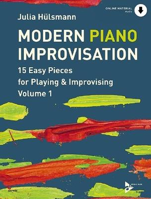 Modern Piano Improvisation Vol. 1 Easy Pieces For Playing and Improvising Julia Hülsmann  Klavier Buch + CD  ADV 9048 / Julia Hülsmann / Advance Music