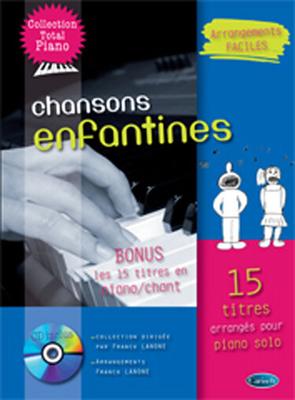 Chansons Enfantines pour Piano  Franck Lanone  Klavier Buch + CD Pop und Rock MF2225 / Franck Lanone / Carisch