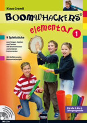 Boomwhackers elementar 1     Buch + CD  HI-S5873 /  / Helbling