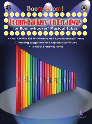 Boomwhackers On Broadway   Gayle Giese Boomwhackers Buch + CD TV, Film, Musical und Show 00-BMR07021CD /  / Alfred Publishing