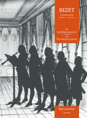 L'Arlésienne Suite Nr. 1 Für Holzbläserquintett  Georges Bizet  Woodwind Quintet Buch  BA8604 / Georges Bizet / Bärenreiter