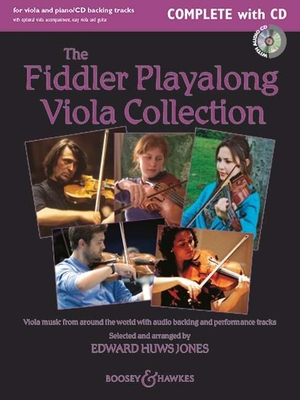Fiddler Playalong Collection   Jones  Viola Buch  BH 11785 / Jones / Boosey and Hawkes