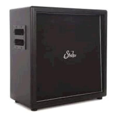 Suhr Guitars Suhr 2×12 Speaker Cabinet. PT-15 IR. Black tolex. Black grill