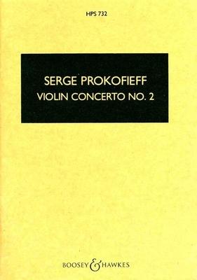 Hawkes Pocket Scores / Violin Concerto No. 2  In G Minor Op.63Sergei Prokofiev  Violin and Orchestra Buch  BH 6500438 / Sergei Prokofiev / Boosey and Hawkes