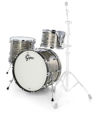 Gretsch Drums Jazette Brooklyn Series Grey Oyster BD18» Tom 12» floort tom 14»