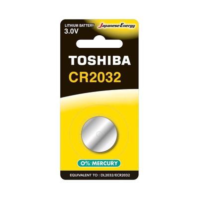 Toshiba CR2032 BP-1C Pile CR2032 – Pack de 1