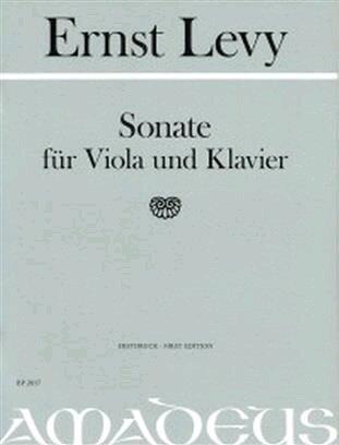 Sonate / Ernst Levy / Amadeus : photo 1