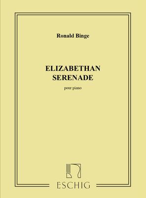 Elizabeth Serenade  Pour Piano Roland Binge  Klavier Partitur  ME 7054 / Roland Binge / Eschig