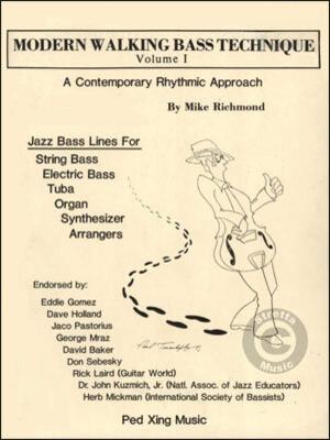 Modern Walking Bass Technique Bass Buch D 83301200 / Mike Richmond / Aebersold