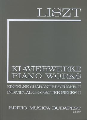 EMB New Liszt Edition / Einzelne Charakterstücke Band 2    Klavier Buch  6217 / Franz Liszt / EMB Editions Musica Budapest