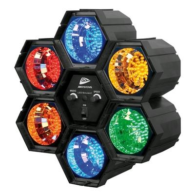 JBSYSTEMS LED SIXLIGHT – LED Light effect