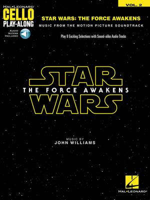 Hal Leonard Instrumental Play-Along / Star Wars: The Force Awakens – Episode VII Cello Play-Along Volume 2 John Williams  Cello Buch + Online-Audio TV, Film, Musical und Show HL00157649 / John Williams / Hal Leonard