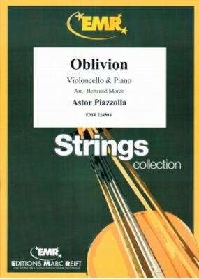 Oblivion  Astor Piazzolla  Violoncelle et Piano /  / Editions Marc Reift