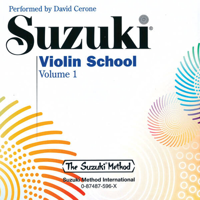 Suzuki Method International / Suzuki Violin School 1 CD    Violin CD  00-0596édition révisée /  / Alfred Publishing