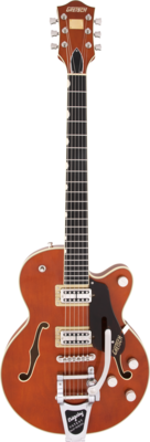 Gretsch G6659T Players Edition Broadkaster Roundup Orange