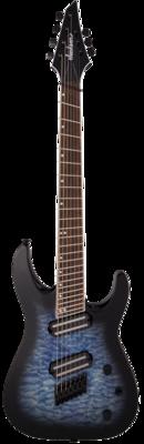 Jackson X Series Soloist Arch Top SLATX7Q MS – Multi-Sclae Transparent Blue Burst