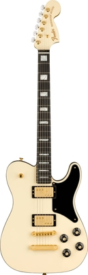 Fender Parallel Universe Volume II Troublemaker Tele Deluxe, Ebony Fingerboard, Olympic White