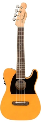 Fender Fullerton Tele Ukulele, Butterscotch Blonde
