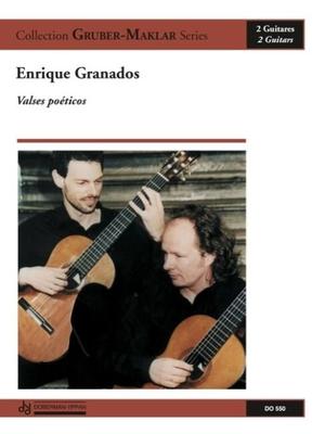 Valses Poeticos  Enrique Granados  2 Gitarren Buch  DO 550 / Enrique Granados / Doberman