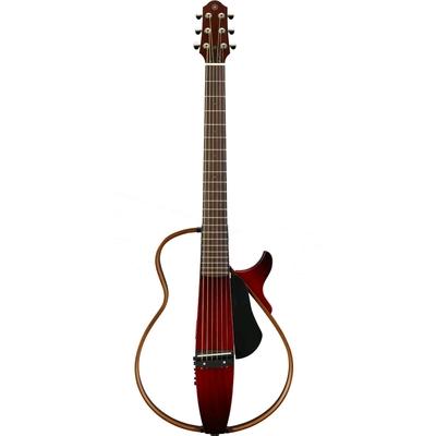 Yamaha Guitars SLG200S Crimson Red Burst