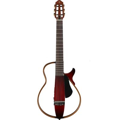 Yamaha Guitars SLG200N Crimson Red Burst