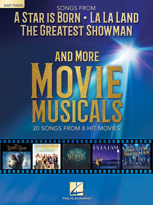 Easy Piano Songbook / Songs from A Star Is Born and More Movie Musicals 20 songs from 7 hit movie musicals including A Star Is Born, The Greatest Showman, La La Land & more Lukas Nelson  Easy Piano Buch TV, Film, Musical und Show HL00287577 / Lukas Nelson / Bradley Cooper / Lady Gaga / Hal Leonard