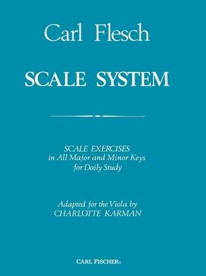 Scale System  Carl Flesch Charlotte Karman Viola Buch  O2921 / Carl Flesch / Carl Fischer