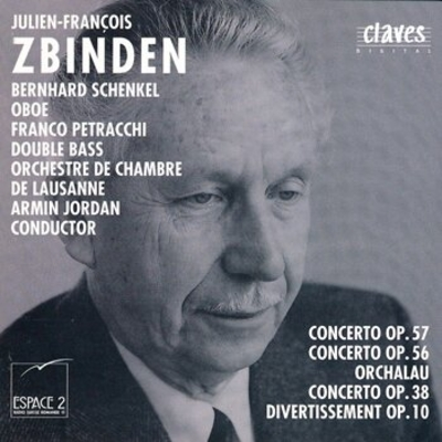 Concerto pour hautbois et orchestre à cordes, op. 56 (1976)Réduction piano / Zbinden Julien-François / Editions Labatiaz