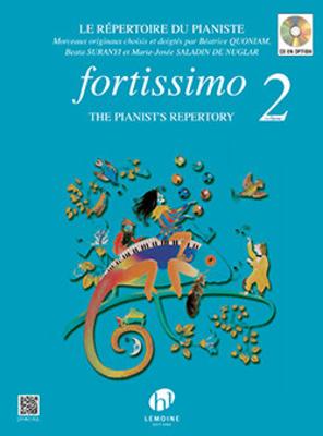 Fortissimo Vol.2 QUONIAM Béatrice / SURANYI Beata / SALADIN de NUGLAR M.J. / Béatrice Quoniam / Henry Lemoine
