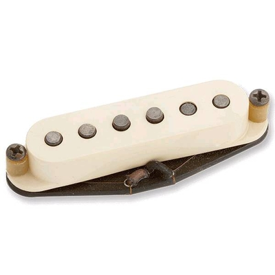 Seymour Duncan Antiquity – Texas Hot Strat Middle Pickup RW/RP Aged – White Cover