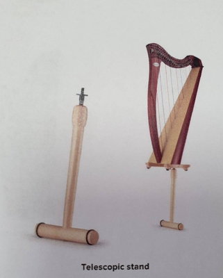 Salvi Telescopic stand pour harpe celtique Juno