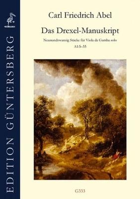 Das Drexel-Manuskript 29 Stücke Für Viola da Gamba Solo A1 5-33 – Carl Friedrich Abel / Carl Friedrich Abel / Walhall