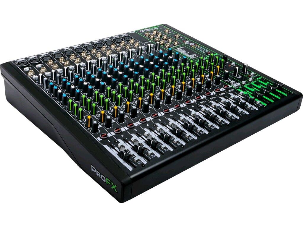 Mackie ProFX16v3 – Table de mixage analogique avec effets : photo 1