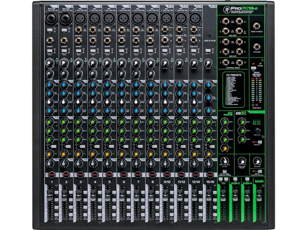 Mackie ProFX16v3 – Table de mixage analogique avec effets : photo 2