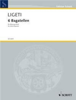 Bagattelle (6) Per Quintetto Di Strum  György Ligeti   Bläserquintett Buch / György Ligeti / Schott