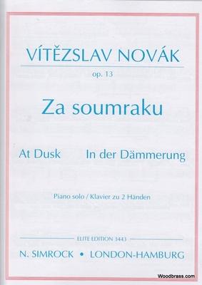 At Dusk op. 13    Klavier Buch  EE 3443 / Novak V. / Simrock